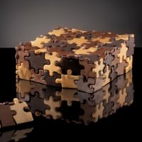 Stampo Torta Puzzle