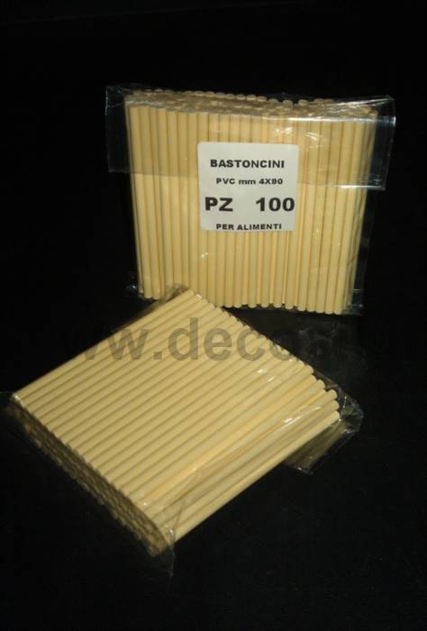 PVC Sticks for decoStick silicone moulds