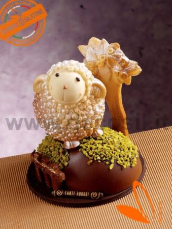 Lamb Nino 3D silicone chocolate mold