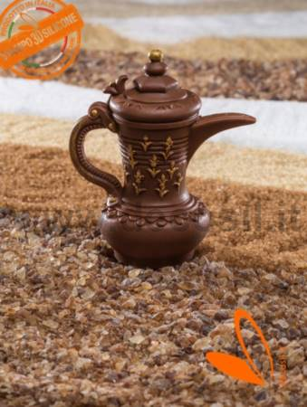 Arabic Coffee Pot with Flower decorations