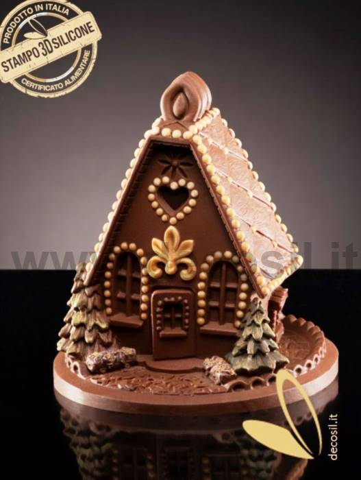 Sweet Home Chocolate Bell LINEAGUSCIO Mold