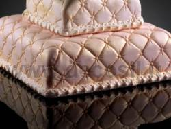 Quilted Duvet Cake Decor mould - Large size