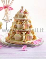 Cupcakes Bell mold
