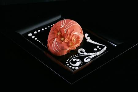 Peach Flowers Egg Mould