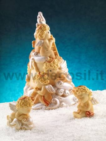 Paradise Chocolate Christmas Tree LINEAGUSCIO Mold