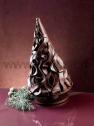 Wood Shavings Christmas tree mold