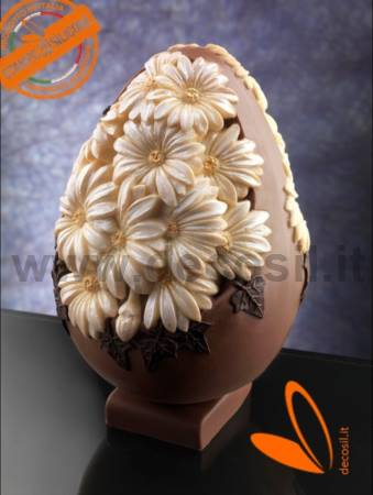 Daisies Chocolate Easter Egg Mould
