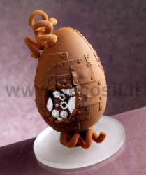 Mechanical Chocolate Easter Egg Mould