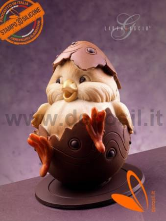 Easter Chick Chocolate Easter Egg Mold