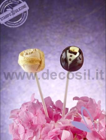 Stampo Lollipop Sposi