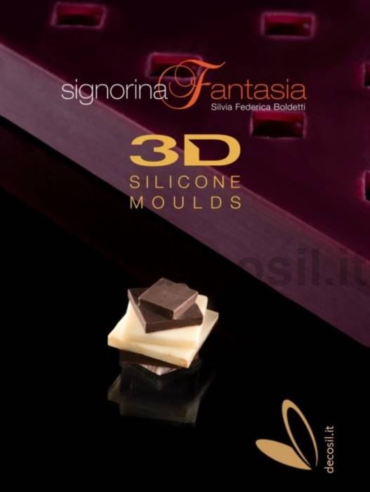 "Mold ABSTRACT JEWEL PRALINE ""SIGNORINA FANTASIA� LINE"
