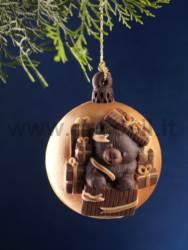 Christmas Bauble - Teddy Bear Mold