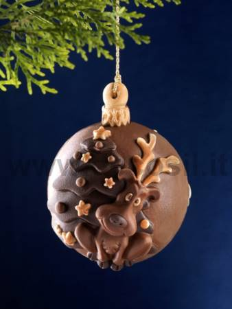 Christmas Bauble - Reindeer Mold