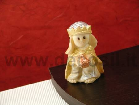 Gold King Melchior Wise-man Mold