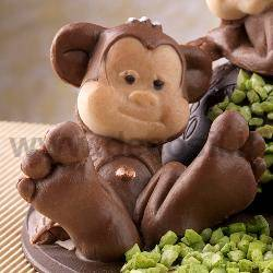 Monkey Sitting mold