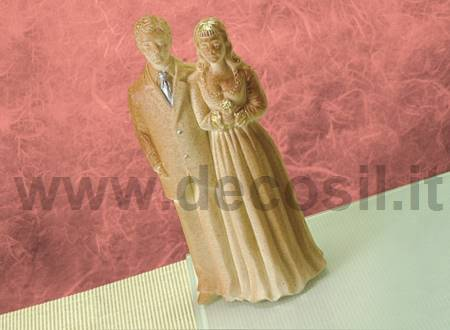 Bride and groom chocolate mold – Medium size