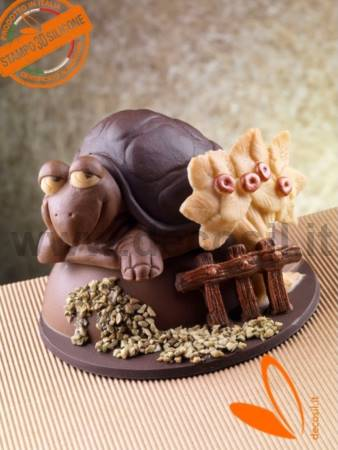 Turtle Turbo Chocolate Mold