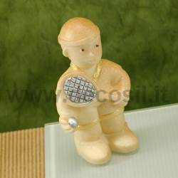 Tennis player mould