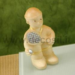 Tennis player mold