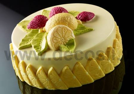 Strawberry Lemon Ice Cream Cake mold