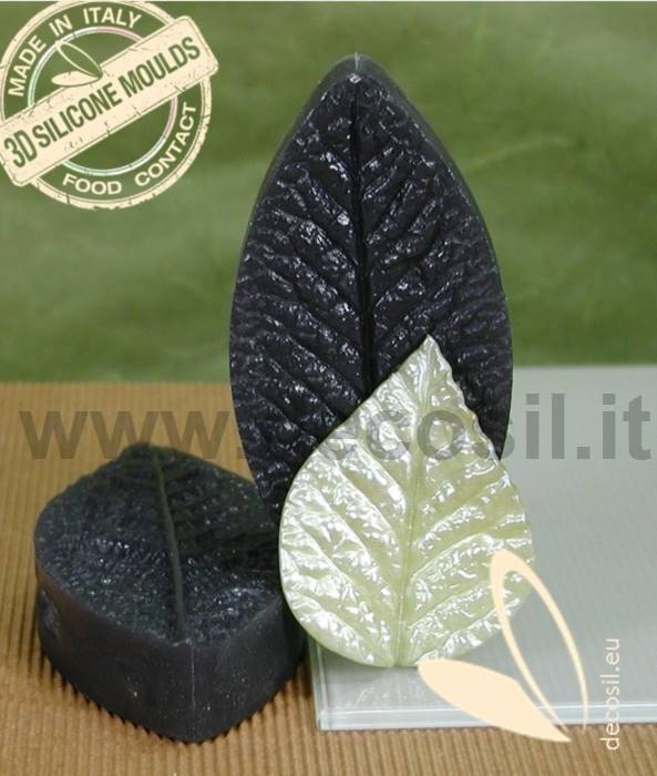 Foil Leaves Cake Decorating : Silicone leaf cake decorating molds,Sugar and chocolate ...