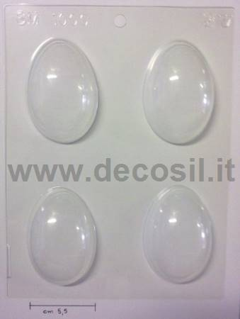 Thermoformed molds Easter small eggs SM 1000