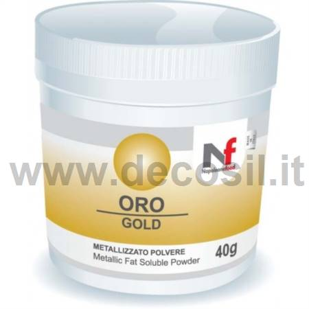 METALLIC POWDER PEARL GOLD LUSTRE AF 25 g.