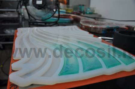 Stylized Eco Tablet Spike mold Linea Malizia