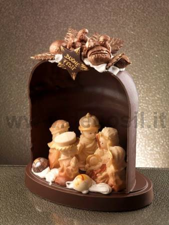 Holy Family chocolate mould
