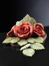 Rose Leaves mould