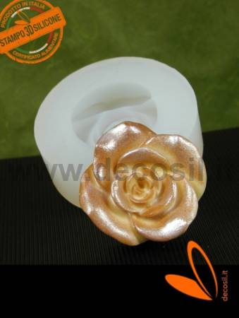 Big single rose mold