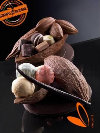 Medium Cocoa Fruit Mold