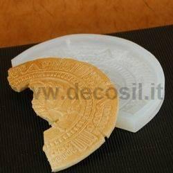 Stampo Stele Azteca  a mezza luna