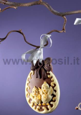 Easter Chick Ornament Mould