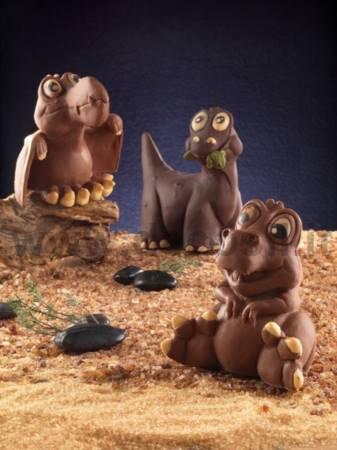 Baby Radames Brontosauro mold