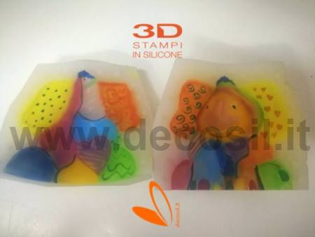 Seated Elephant mold