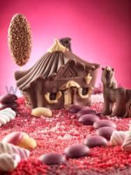 Small Unicorn chocolate mold