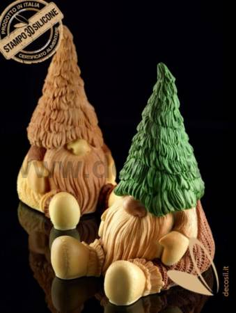 Gnome Tiby Chocolate LINEAGUSCIO Mould