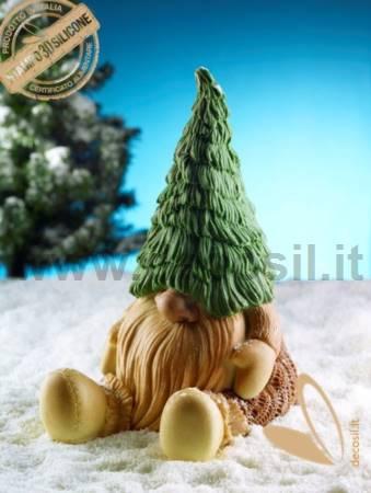 Gnome Tiby Chocolate LINEAGUSCIO Mould
