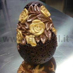 Rose Chocolate Easter Egg Mould