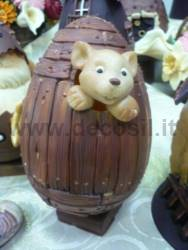 Wooden Egg Mould