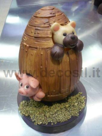 Wooden Chocolate Easter Egg mold