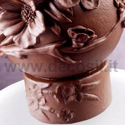 Peach Flowers Holder Mould