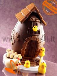 Farm Chocolate Easter Egg Mold