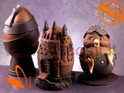 Ribbon Chocolate Easter Egg Mould