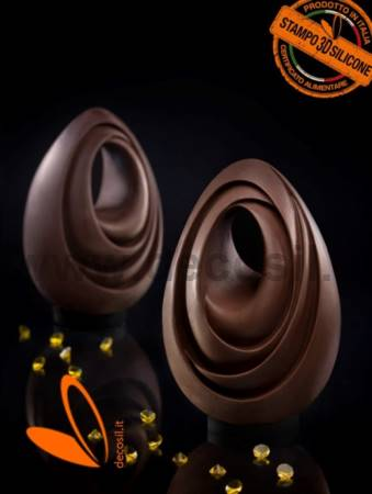 Infinity Chocolate Easter Egg LINEAGUSCIO Mold