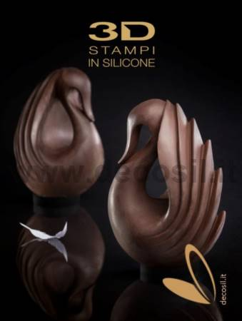 Cygnus Chocolate Easter Egg LINEAGUSCIO Mould