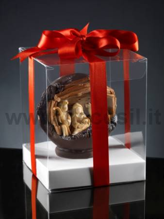 Chocolate Nativity Sphere mold