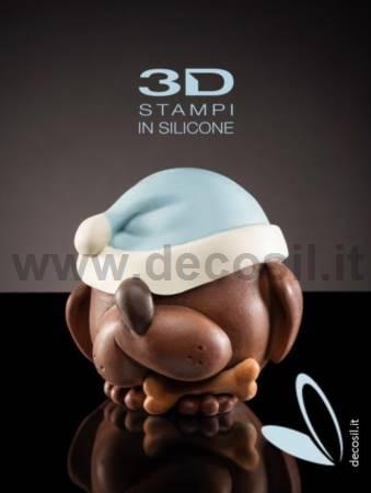 Big Hat Dog LINEAGUSCIO Sphere Mold