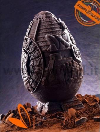 Stampo Guscio Uovo Grande Maya